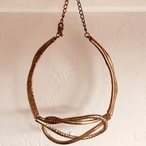 Jewelry - brass adjustable choker